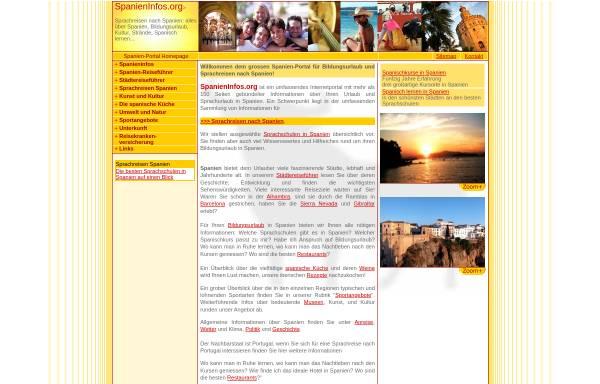 Vorschau von www.spanieninfos.org, SpanienInfos.org