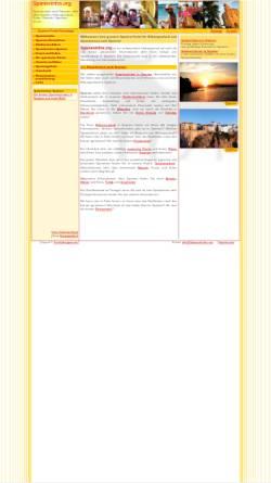 Vorschau der mobilen Webseite www.spanieninfos.org, SpanienInfos.org