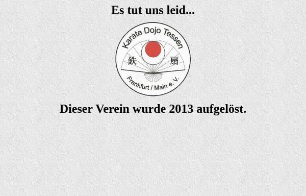 Vorschau von www.karate-tessen-frankfurt.de, Kartate-Dojo Tessen Frankfurt am Main