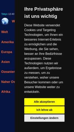 Vorschau der mobilen Webseite www.finanz-links.de, Finanz-Links Deutschland
