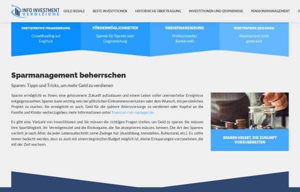 Vorschau von www.info-investmentvergleiche.de, Key Compare