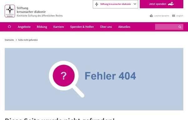 Vorschau von www.kantoreiarchiv.de, Archiv der Kreuznacher Diakonie-Kantorei