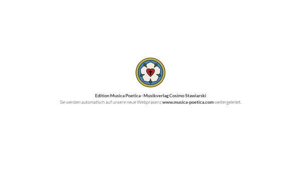 Vorschau von www.musica-poetica.de, Edition Musica Poetica