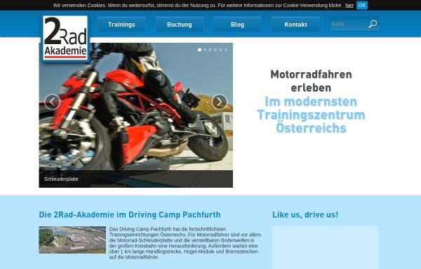 Vorschau von www.2rad-akademie.at, 2rad-Akademie - Fahrschule Columbus, Wien