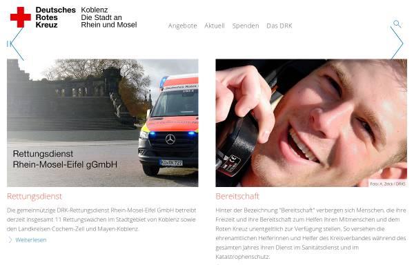Vorschau von www.drk-koblenz.de, DRK Koblenz
