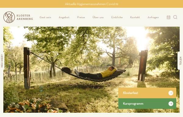 Vorschau von www.kloster-arenberg.de, Kloster Arenberg