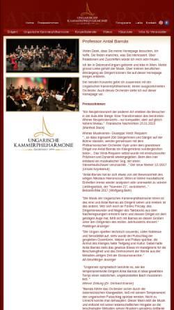 Vorschau der mobilen Webseite www.neujahrskonzerte.com, Barnás, Antal