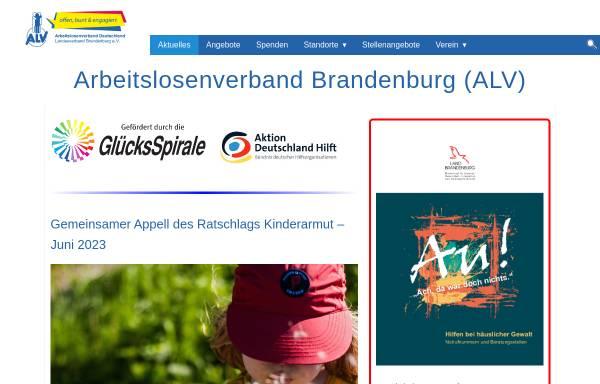 Vorschau von www.arbeitslosenverband.org, Arbeitslosenverband Deutschland e.V.