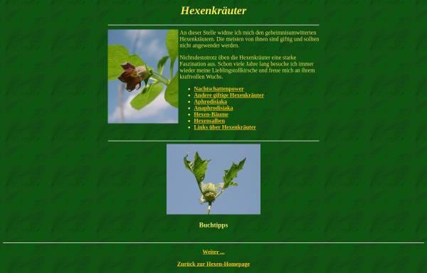 Vorschau von hexe.org, Hexenkräuter