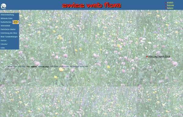 Vorschau von www.wsl.ch, Swiss Web Flora