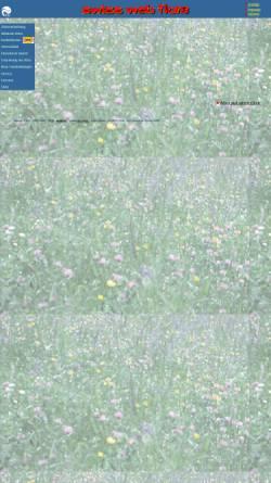Vorschau der mobilen Webseite www.wsl.ch, Swiss Web Flora