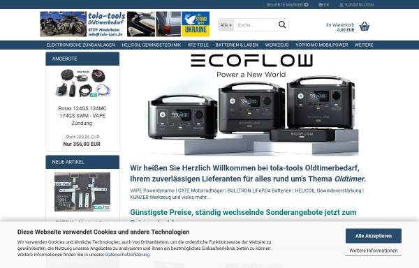 Vorschau von www.tola-tools.de, Tola Tools - Thorsten Lange