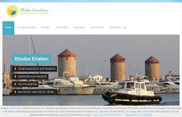 Vorschau von www.rhodos-travel.com, Rhodos Travel Revue