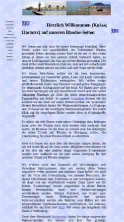 Vorschau der mobilen Webseite www.rhodos-seiten.de, Die Rhodos-Seiten