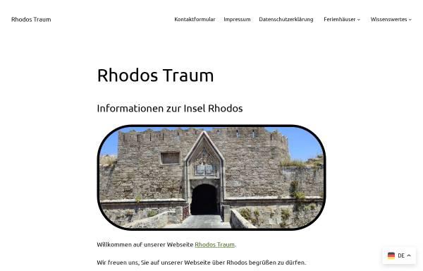 Vorschau von www.rhodos-traum.de, Rhodos-Traum