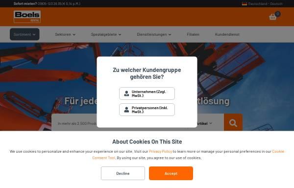 Vorschau von www.kuechencontainer.de, Boels Verleih GmbH