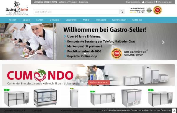 Vorschau von www.gastro-seller.de, Gastro Seller - Christian Fieback