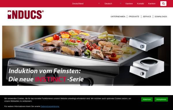 Vorschau von www.inducs.ch, Inducs AG
