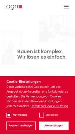 Vorschau der mobilen Webseite www.kd-c.net, KD&C Großküchenplanung