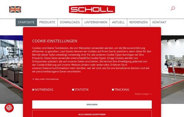 Vorschau von www.scholl-gastro.de, Scholl Apparatebau GmbH & Co.