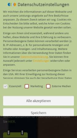 Vorschau der mobilen Webseite www.bpm-akademie.de, BPM Akademie - Weiterbildung für Prozessmanagement