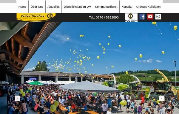 Vorschau von www.peter-kircher.at, Lohnunternehmen Peter Kircher