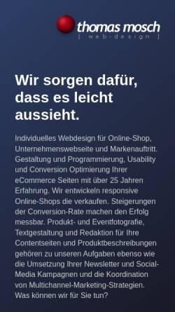 Vorschau der mobilen Webseite www.webdesigner.de, Thomas Mosch