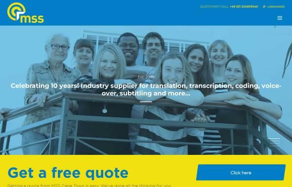 Vorschau von www.meinschreibservice.de, MeinSchreibservice.de, Talentpool Solutions