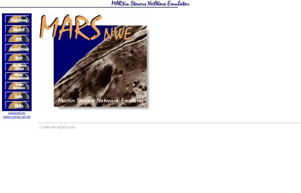 Vorschau von www.compu-art.de, Martin Stovers NetWare-Emulator