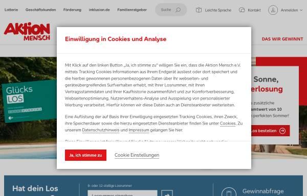 Vorschau von www.aktion-mensch.de, Aktion Mensch