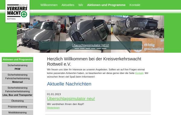 Vorschau von www.verkehrswacht-rottweil.de, Kreisverkehrswacht Rottweil e. V.