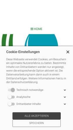 Vorschau der mobilen Webseite xn--sanittshaus-badzwischenahn-khc.de, Sanitätshaus Bad Zwischenahn GmbH