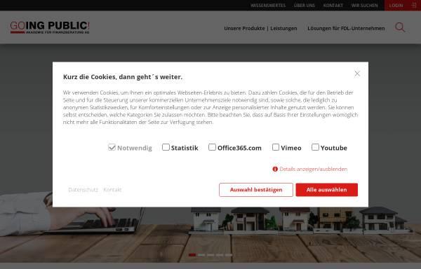 Vorschau von www.fachwirt-finanzberatung.de, Aus- und Weiterbildung für Finanzdienstleister
