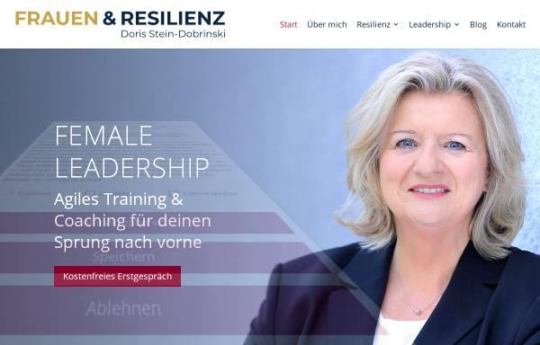 Vorschau von www.frauen-und-resilienz.de, Doris Stein-Dobrinski - Training und Coaching