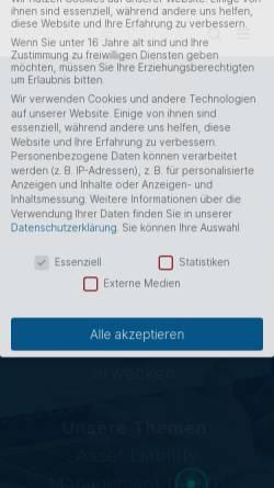 Vorschau der mobilen Webseite www.financetrainer.com, Finance Trainer International GmbH