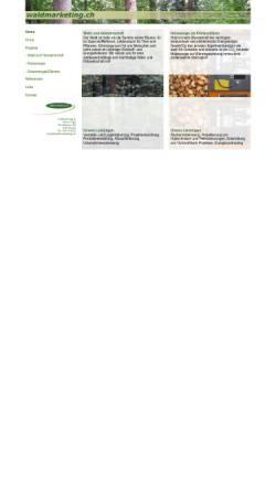 Vorschau der mobilen Webseite www.waldmarketing.ch, Elektronischer Holzmarkt für Schweizer Rundholz