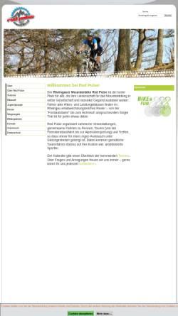 Vorschau der mobilen Webseite www.redpulse.de, Rheingauer Mountainbike Club Red Pulse e.V.