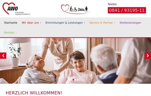 Vorschau von www.awo-in-ei.de, AWO Ingolstadt-Eichstätt