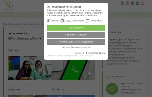 Vorschau von www.hollerhaus-in.de, Das Hollerhaus