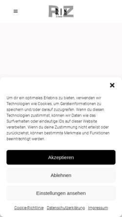 Vorschau der mobilen Webseite www.holztal.de, Hotel-Restaurant