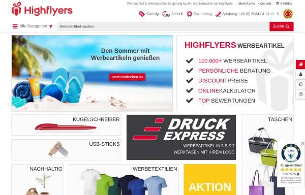 Vorschau von www.werbeartikel-discount.com, HIGHFLYERS Werbeartikel GmbH