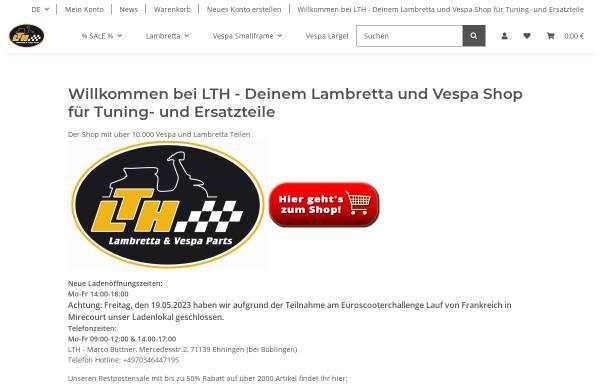 Vorschau von www.lambretta-teile.de, Lambretta Teile Heilbronn, Marco Büttner