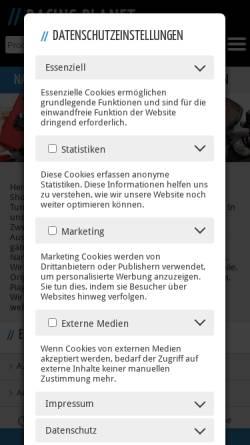Vorschau der mobilen Webseite www.rollertuning.de, Roller Tuning Duisburg, Thorsten Pluym