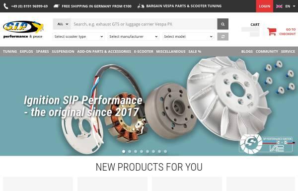 Vorschau von www.sip-scootershop.com, SIP Scootershop GmbH
