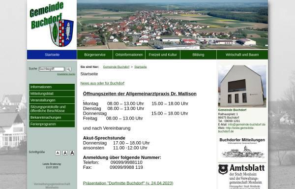 Vorschau von www.buchdorf.net, Buchdorf