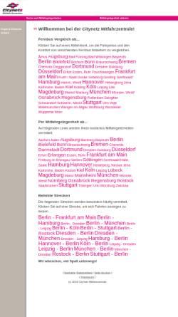 Vorschau der mobilen Webseite www.citynetz-mitfahrzentrale.de, Citynetz