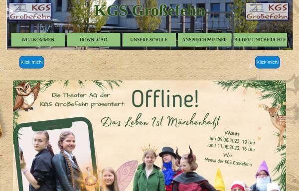 Vorschau von kgs-grossefehn.de, Kooperative Gesamtschule Großefehn ( KGS)