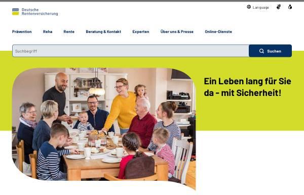 Vorschau von www.deutsche-rentenversicherung.de, Deutsche Rentenversicherung