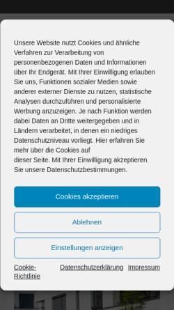 Vorschau der mobilen Webseite www.dia-vorsorge.de, Deutsches Institut für Altersvorsorge GmbH