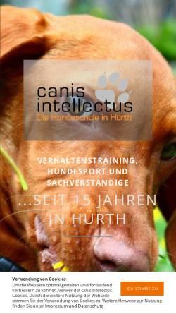 Vorschau der mobilen Webseite www.canis-intellectus.de, Canis intellectus